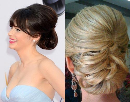 Прическа на свадьбу маме на средние волосы