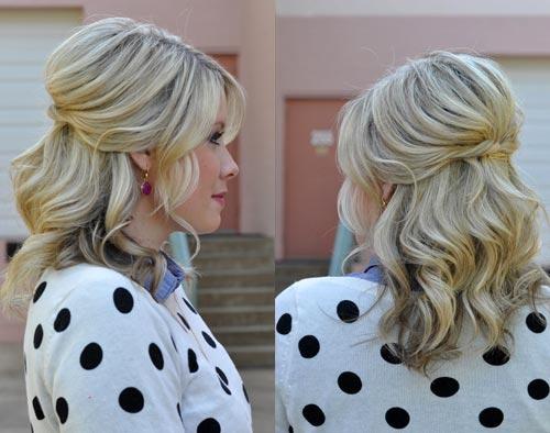 Причёски для мамы невесты на средний волос