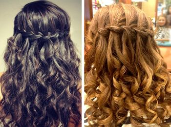 Как заплести косу наизнанку