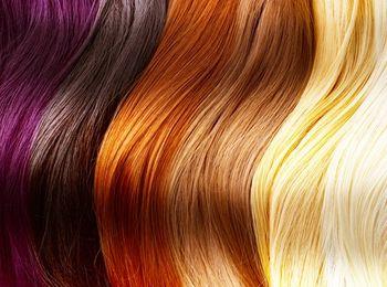 Гамма цветовая волос