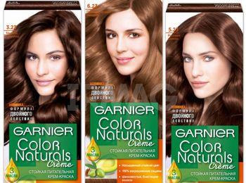 Фото цвета краски для волос гарньер
