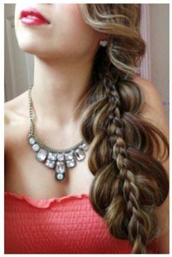 Как заплести красивую двойную косу самостоятельно