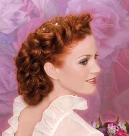 Причёска с плетением от известного парикмахера Wella