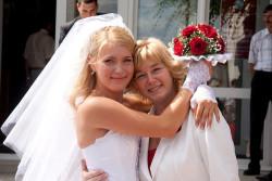Свадебные прически для мамы невесты и жениха