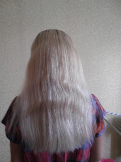 Волосы нужно хорошо расчесать