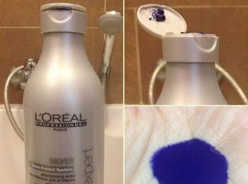 Оттеночный шампунь  L'Oreal Professionnel Serie Expert Silver Shampoo
