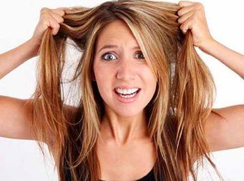 Лечение жестких волос