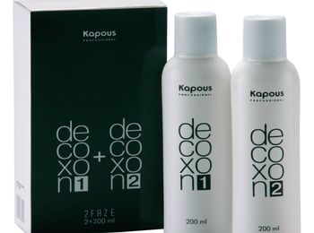Инструкция по применению DECOXON 2 FAZE Kapous