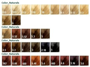 Палитра Garnier Color Naturals