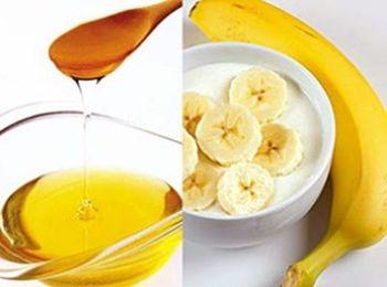 Банановая маска